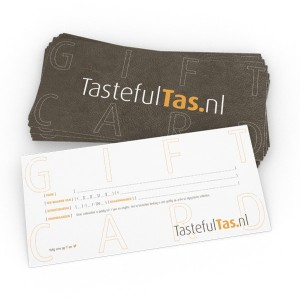 Giftcard kado bon fashioncheque Tastefultas.nl