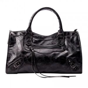 zwarte handtas Ibiza stijl Tastefultas.nl vk met lang hengsel (5)
