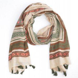 sjaal-aztec-met-kwastjes-khaki-710061