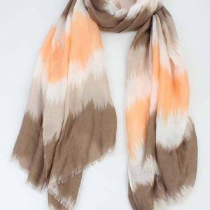 sjaal-kleur-overloop-bruin-812907